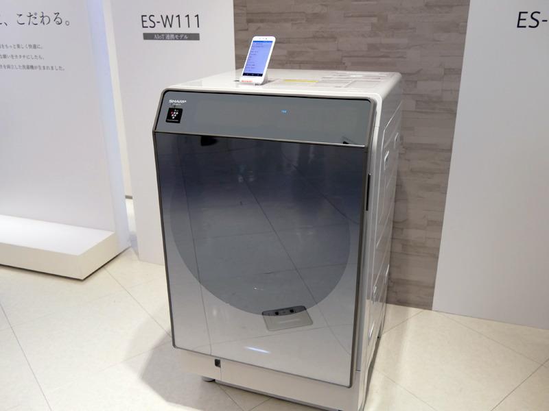 ドラム式洗濯乾燥機「ES-W111」