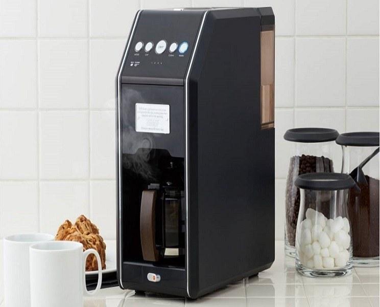 全自動コーヒーメーカー「Toffy 全自動ミル付 4カップコーヒーメーカー」