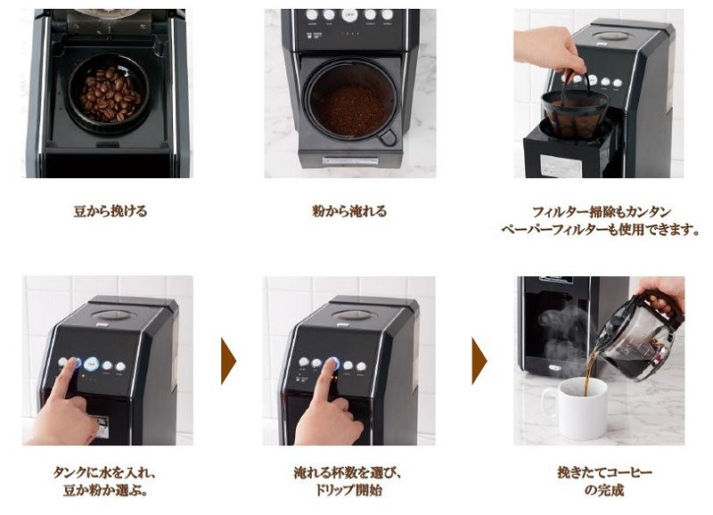 使い方。粉からの抽出もできる