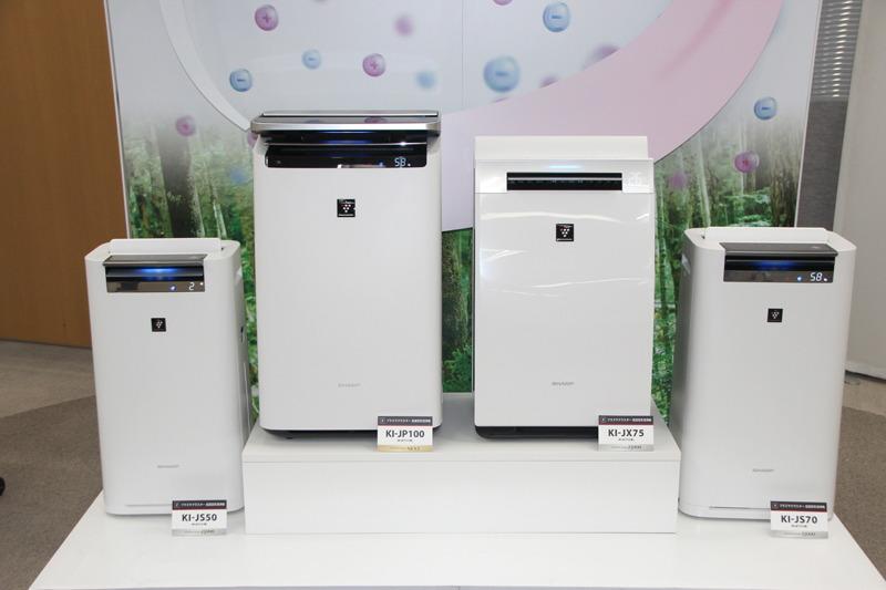 イオン濃度が約25,000個/cm3の「プラズマクラスター25000」搭載モデル3機種もラインナップ
