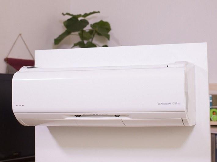 「凍結洗浄」が特徴のルームエアコン「白くまくん」
