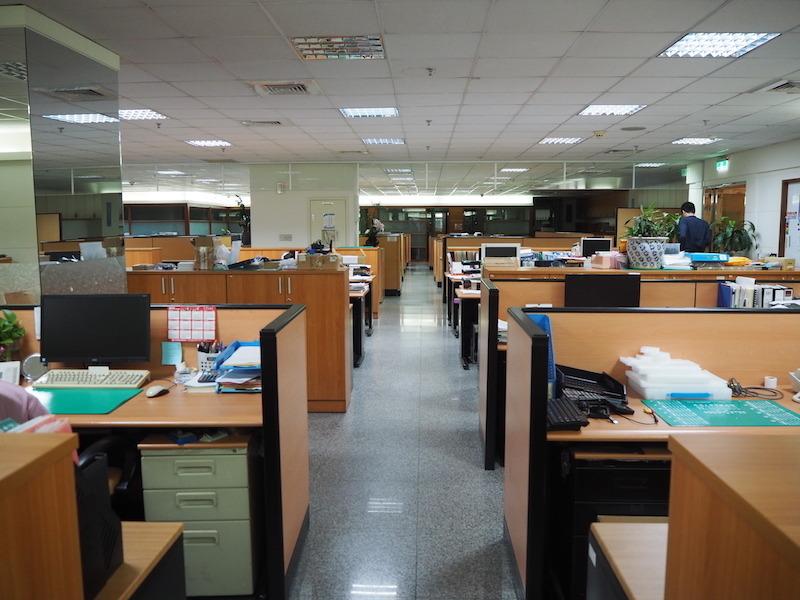 オフィスエリア