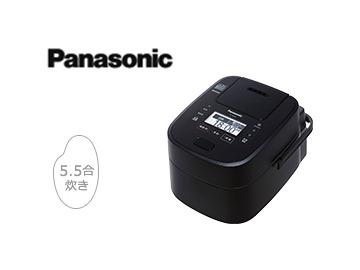 パナソニック「スチーム&可変圧力IHジャー炊飯器 Wおどり炊き SR-VSX108」