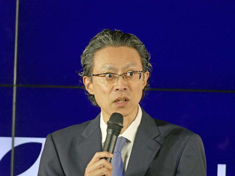 エレクトロラックス・ジャパン 代表取締役の長岡 慶一氏