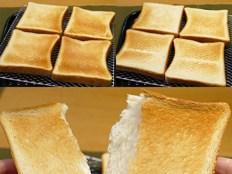 山崎・ロイヤルブレッド5枚切りもイマイチな仕上がり。1~2枚でトーストした方が断然美味しかった