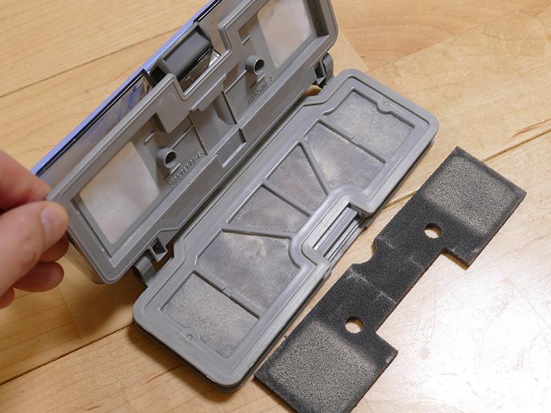 ダストボックスは2つのフィルターを備え、微細なゴミもボックス内にしっかり留める