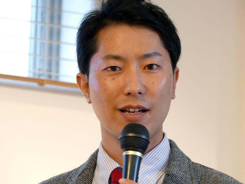 同社 Startup Acceleration部 OE事業室 AROMASTICプロジェクトリーダーの藤田 修二氏
