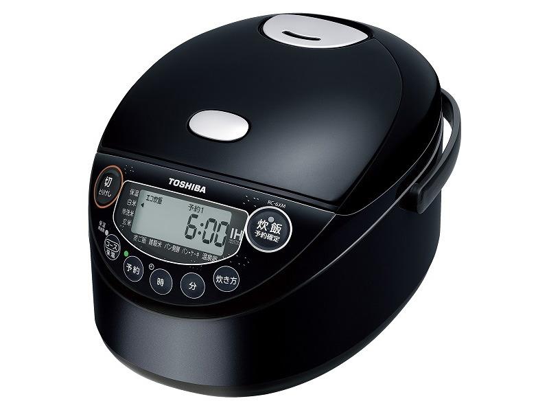 3.5合炊き炊飯器「RC-6XM」グランレッド、ブラック