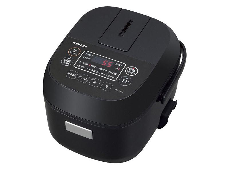3合炊きマイコン炊飯器「RC-5MFM」ブラック、ホワイト