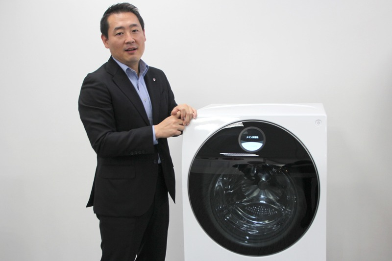 LGエレクトロニクス・ジャパン マーケティングチーム 部長 金 東建氏