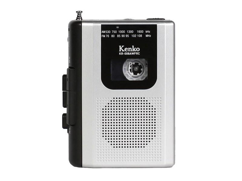 コンパクトラジオ「AM/FM ラジオカセットレコーダー KR-008AWFRC」