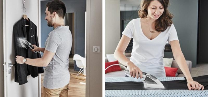 衣類スチーマーとしてもアイロンとしても使いやすいとする