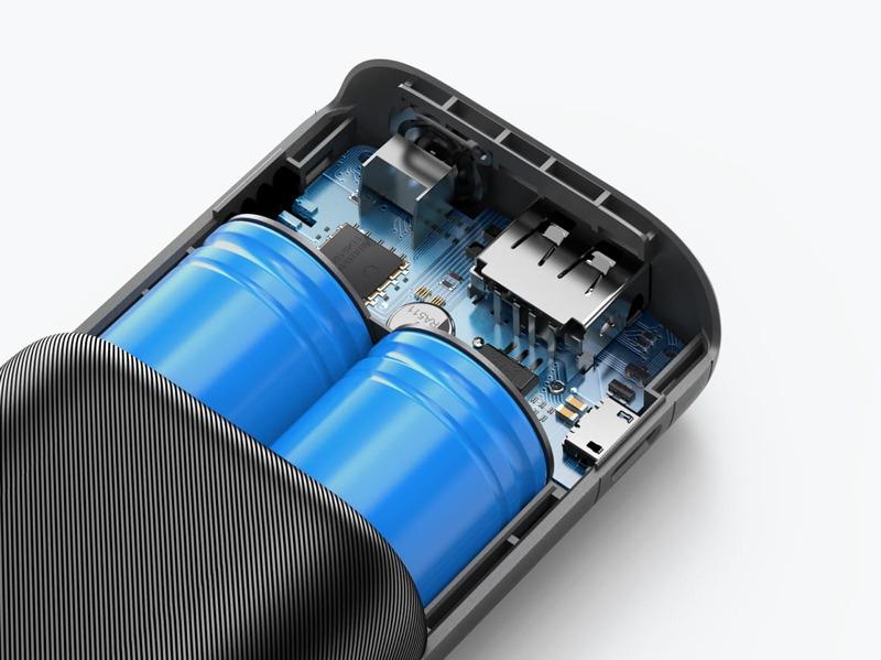多重保護システムを搭載し安全性を高めている。また、電気自動車メーカーも使用する長寿命バッテリーセルを採用