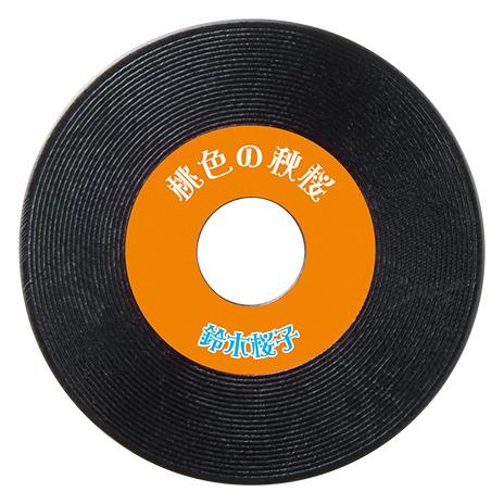 付属のレコード盤とソノシート