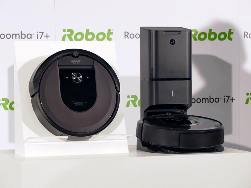 「ルンバi7」(写真左)、「ルンバi7+」(写真右)
