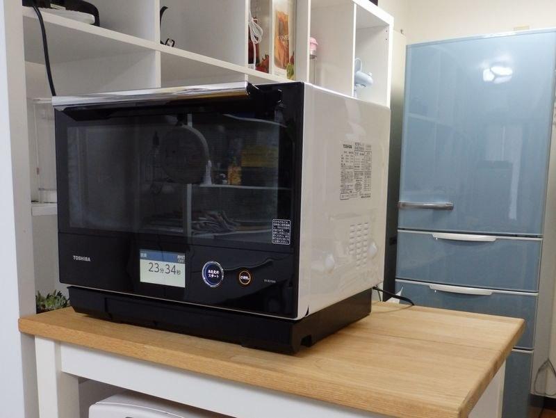 東芝ライフスタイル 過熱水蒸気オーブンレンジ「石窯ドームER-RD7000」