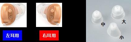 左右別々の形状とし、3サイズのイヤードームを同梱することで、装着感を高めている
