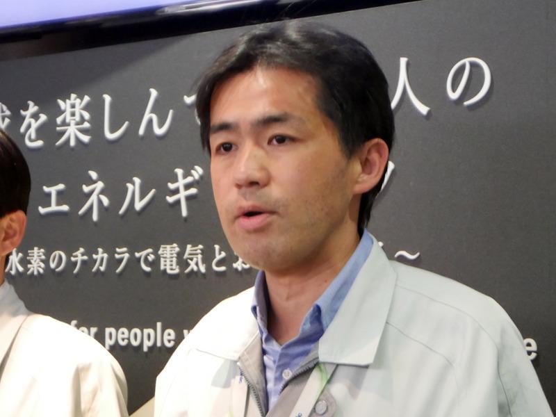 パナソニック アプライアンス社 スマートエネルギーシステム事業部 草津工場長の高田 泰治氏