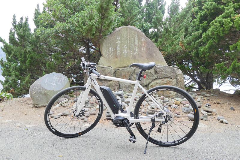 注目浴びまくりのe-bike
