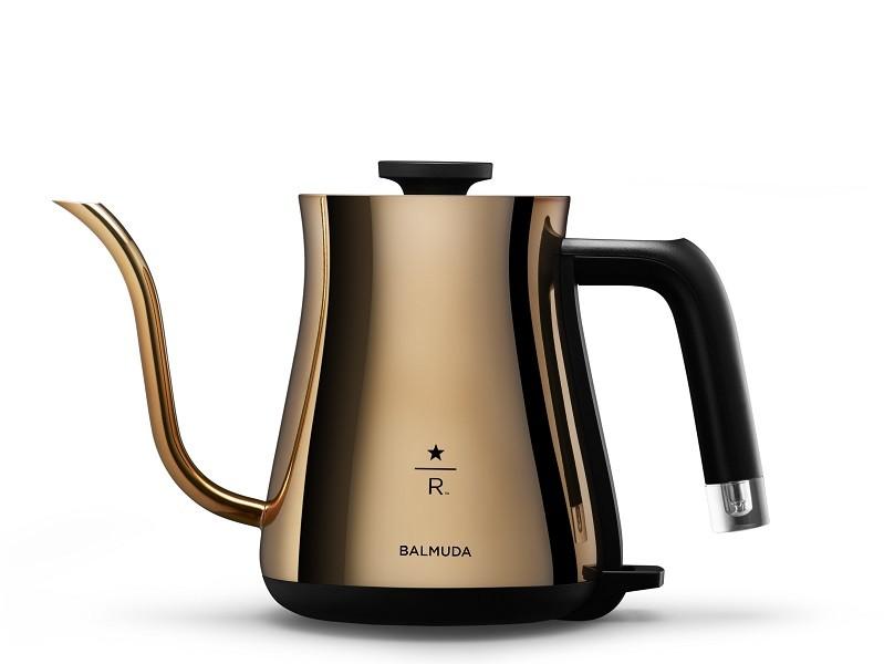 電気ケトル「BALMUDA The Pot Starbucks Reserve Limited Edition」