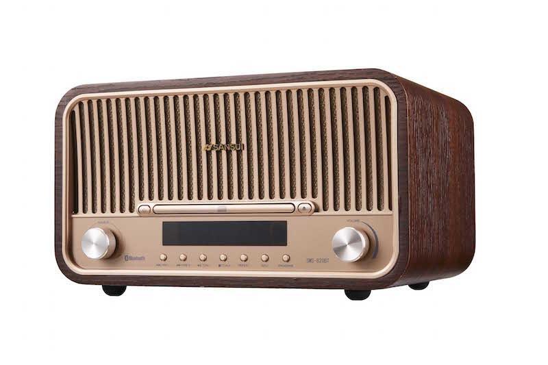 Bluetooth機能搭載CDステレオシステム「SMS-820BT」