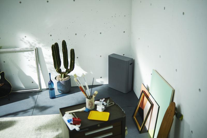 製品の機能を表現しながら、部屋になじむデザインに