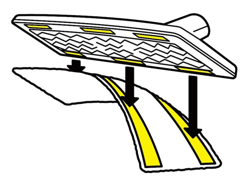 """イージーフィックス フロアノズルは、クロスをワンタッチでフロアノズルに取り付けられる""""面ファスナー""""を採用"""