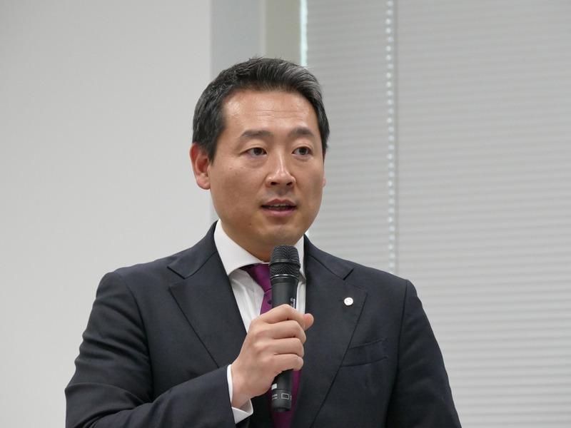 LGエレクトロニクス マーケティングチーム 部長の金 東建氏