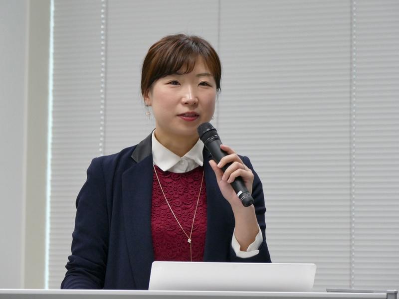LGエレクトロニクス マーケティングチーム 課長の金 敬花氏