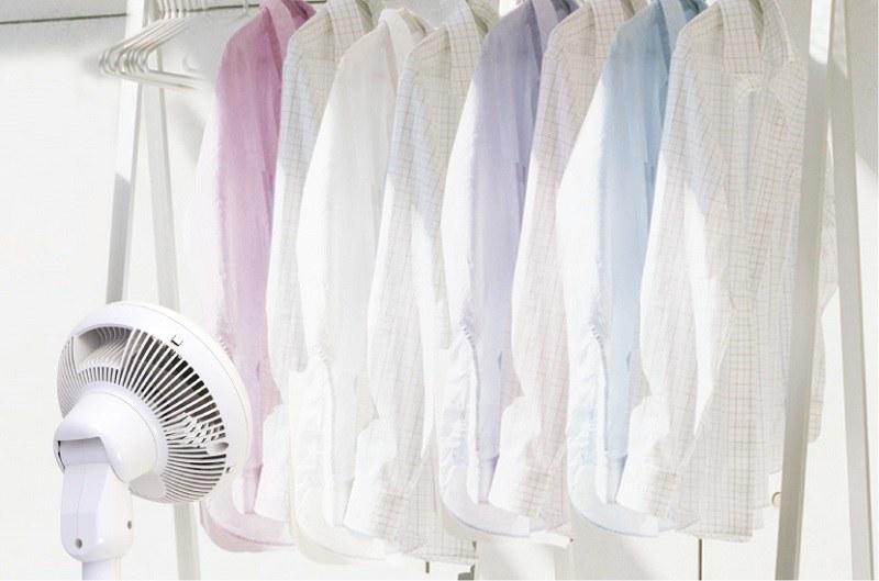 衣類乾燥モードを搭載