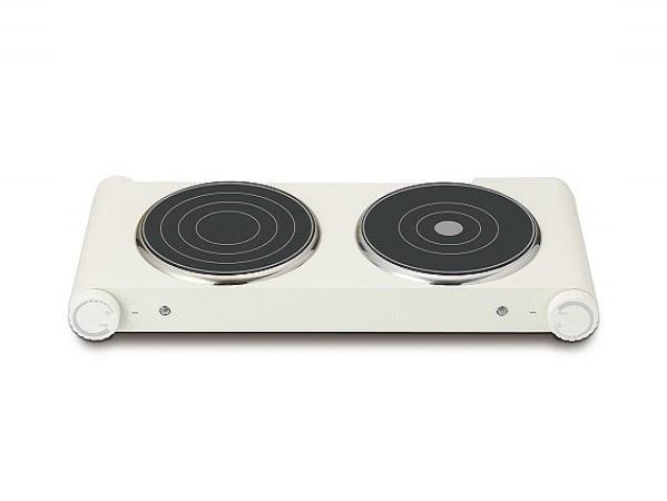 左側は調理用で1,000W、右側は保温用の400W