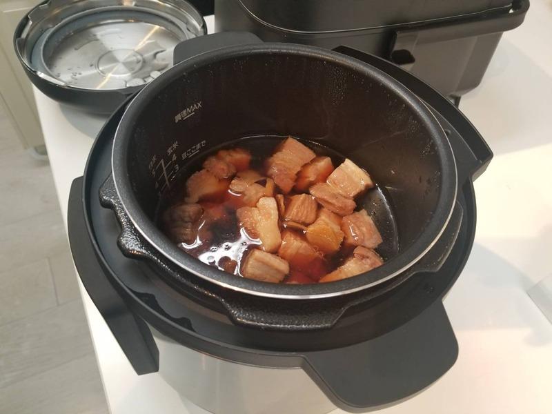豚の角煮。1時間で完成する