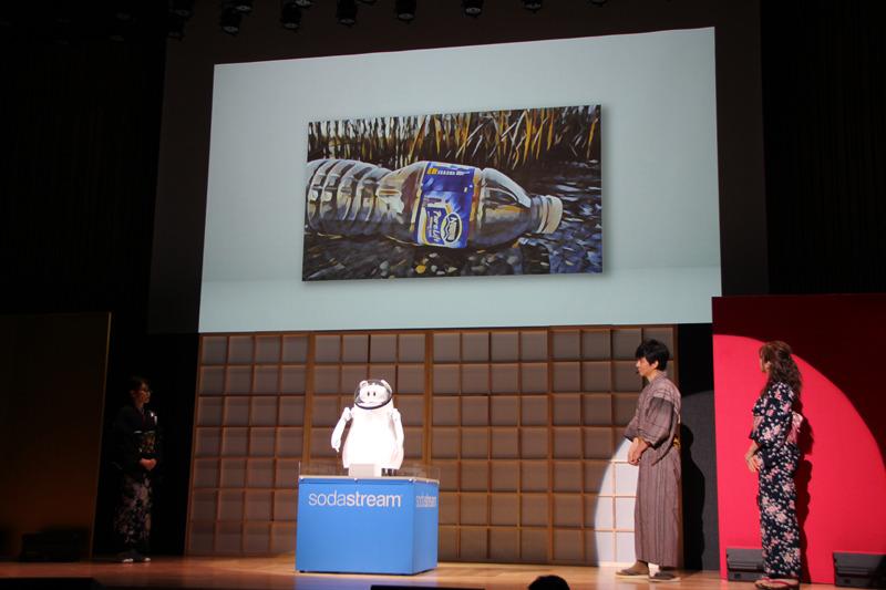 魚に影響を及ぼすマイクロプラスチックについて説明するCAIBA