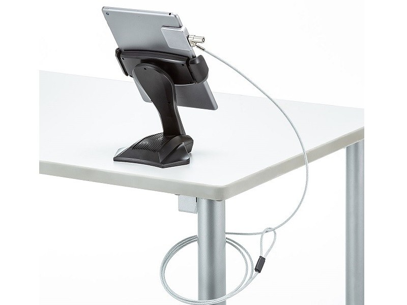 別途盗難防止ワイヤーを用意すれば盗難防止に(SLE-19P)