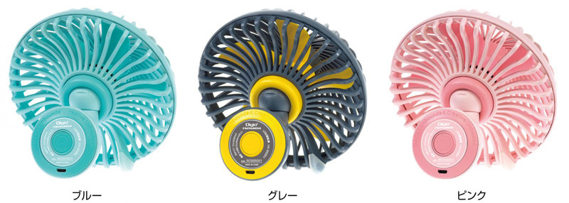 「Digio2 マッシュルーム USB扇風機」