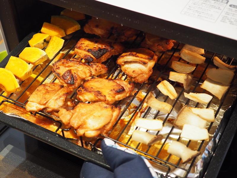 それぞれの食材に合わせて、加熱されている