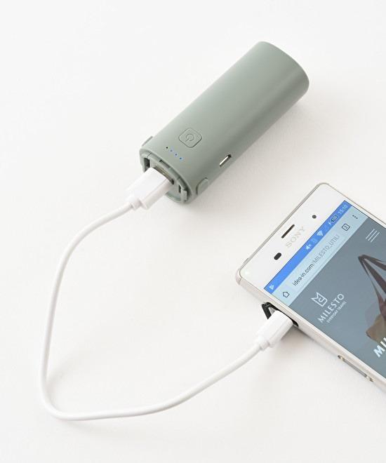 モバイルバッテリーとしても使用可能