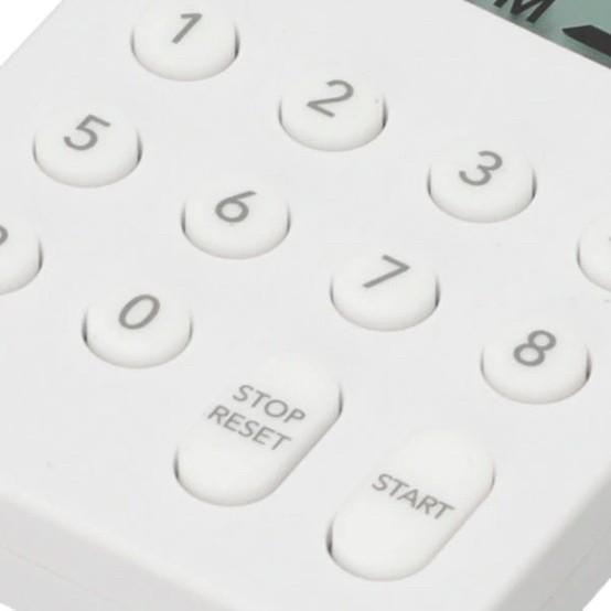 本体の表面には「10キー」と「STOP/RESET」、「START」ボタンを配置