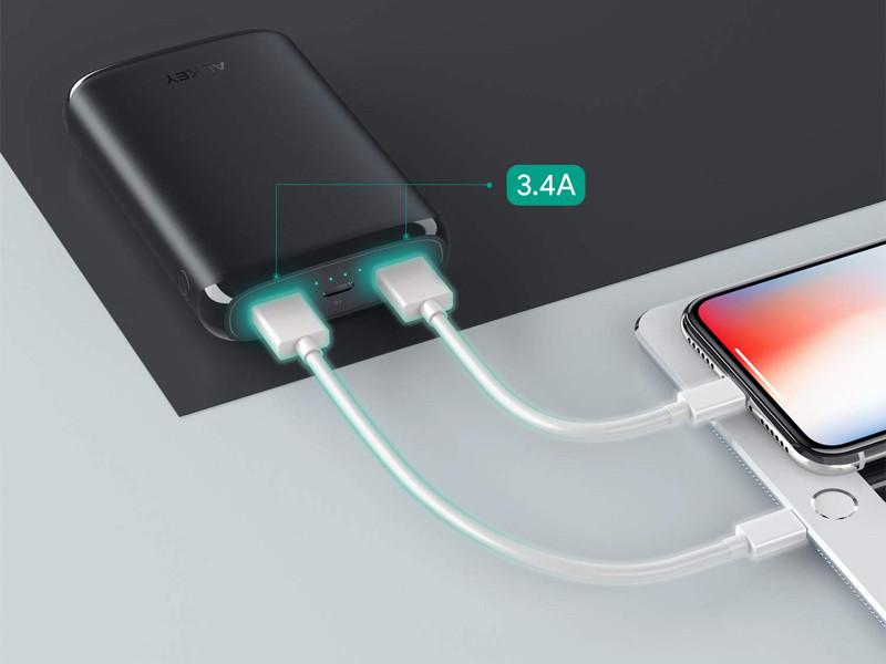 2端末の同時充電が可能