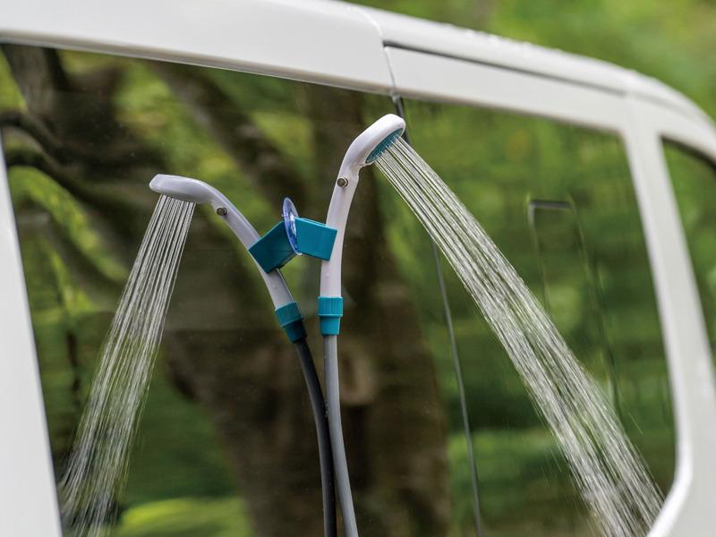 簡易シャワー「2電源・どこでもシャワー(DC・電池)」
