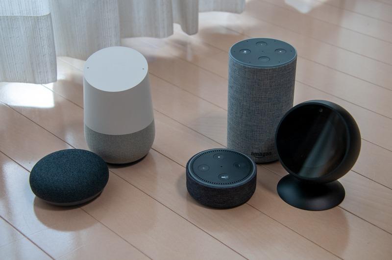 Google アシスタントの「ノクリア アクション」、Amazon Alexaの「ノクリア スキル」を使って、それぞれ音声による操作が可能になる