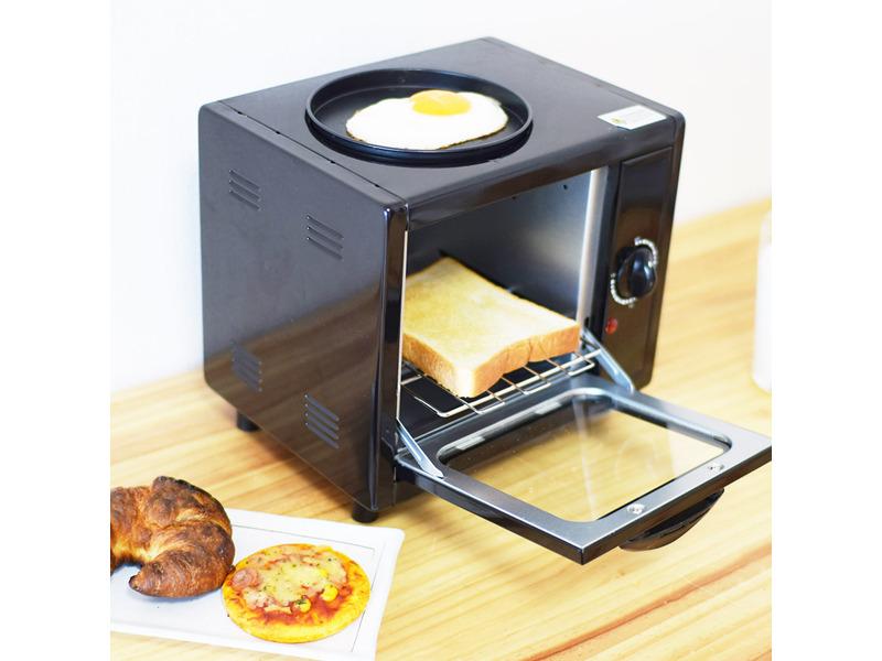 「朝食を手軽においしく お一人様モーニングトースター」