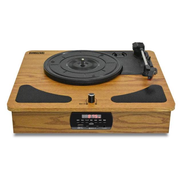 「レコードプレーヤー/ラジオ+メディアレコーダー」