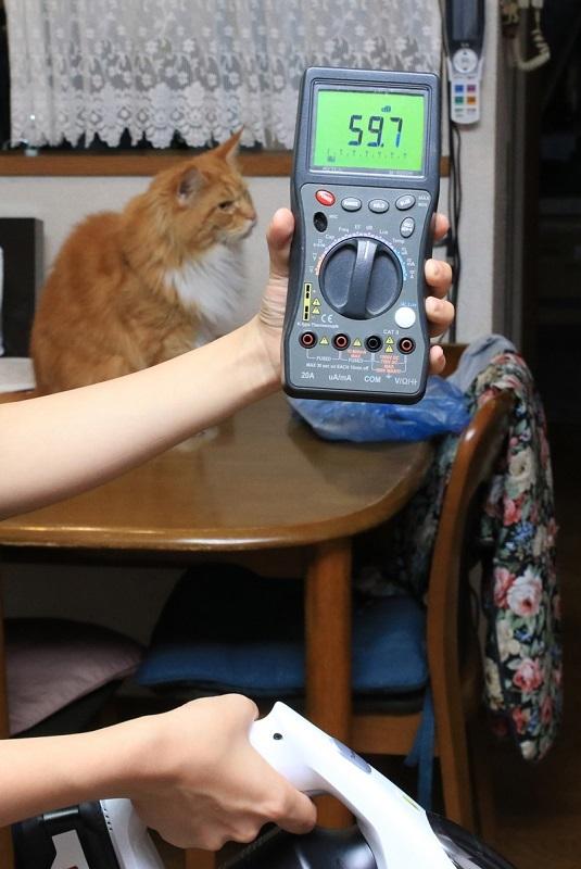 標準モードの運転音はおよそ43db、ターボ(強)でも60db。キーン! という高い音が出ないので、体感的にかなり静か