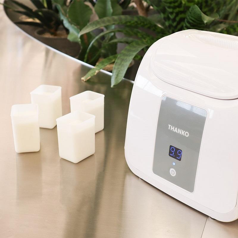 発酵後、自動で冷蔵モードに切り替わる