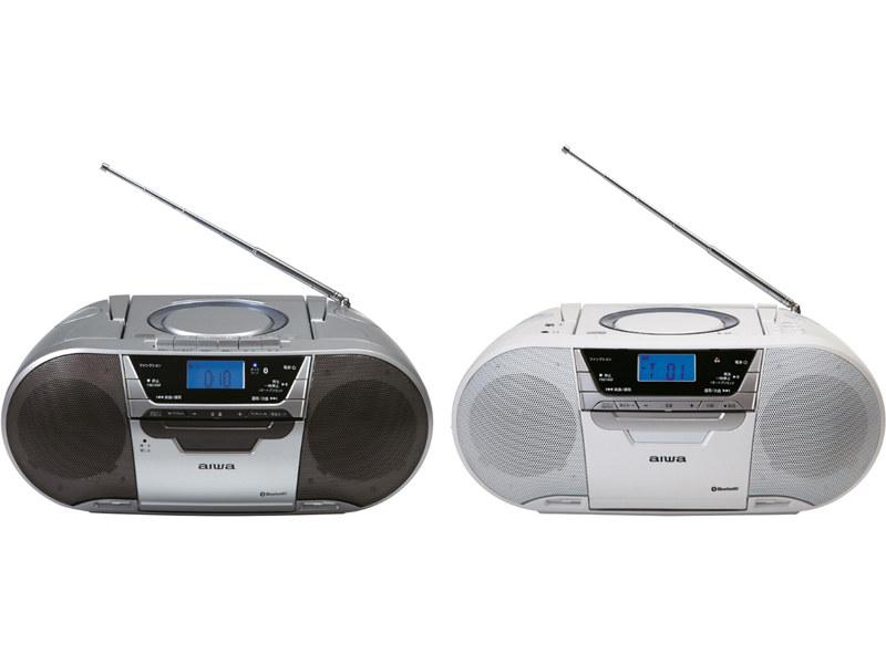 CDラジオカセットレコーダー、「CSD-MV20B(左)」「CR-BUE50(右)」