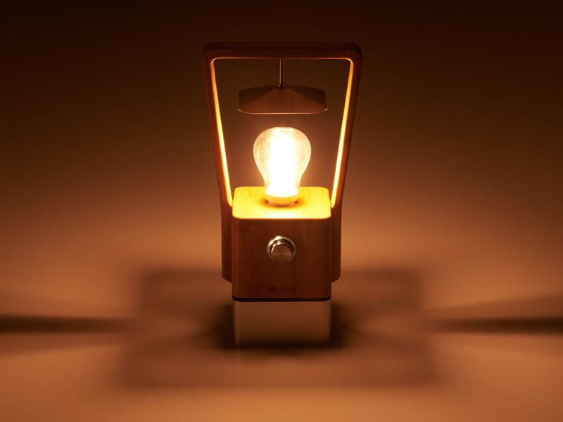 暖色系の温もりのある光