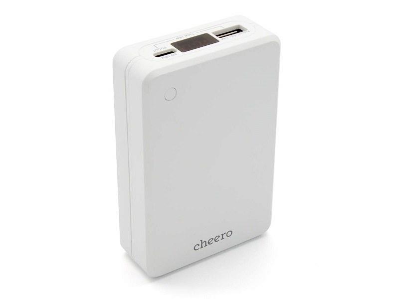 モバイルバッテリー「cheero Extra 10000mAh with Power Delivery 18W CHE-102」