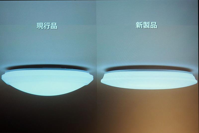 正面からみると見た目はほとんど変わらないスタンダードシリーズの旧モデル(写真左)と新モデル(写真右)。実は5.1cmと大幅に薄型化している