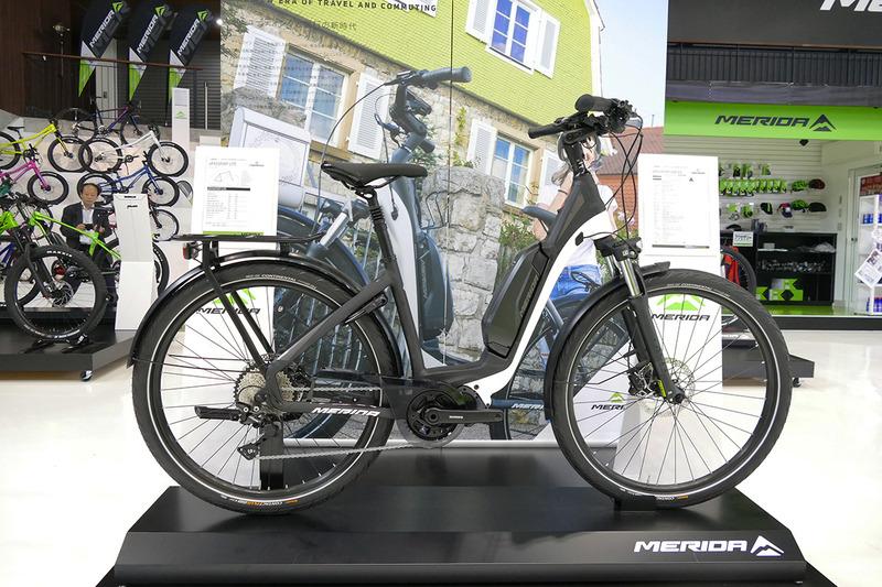 ドライブユニットがなければe-bikeに見えない「ePASSPORT TK 600 EQ」